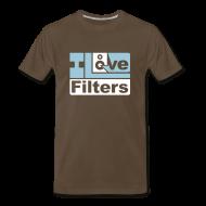T-Shirts ~ Men's Premium T-Shirt ~ I Love Filters