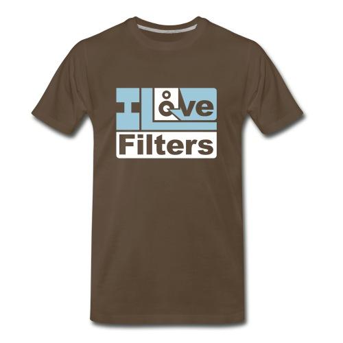 I Love Filters - Men's Premium T-Shirt