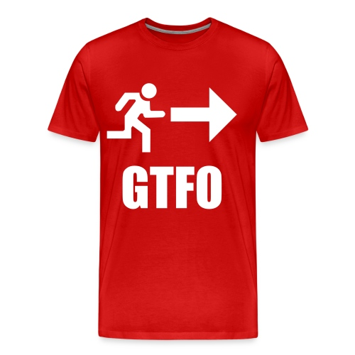GTFO Rebirth Shirt - Men's Premium T-Shirt