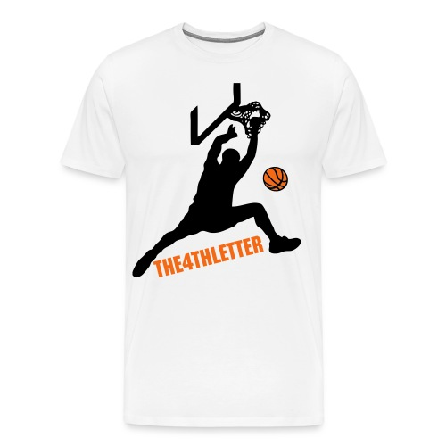 Basketball Graphic Tee - Men's Premium T-Shirt