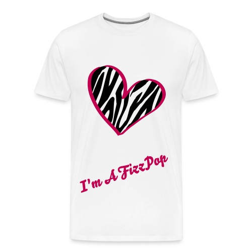 Official FizzPop Mens T-SHIRT - Men's Premium T-Shirt