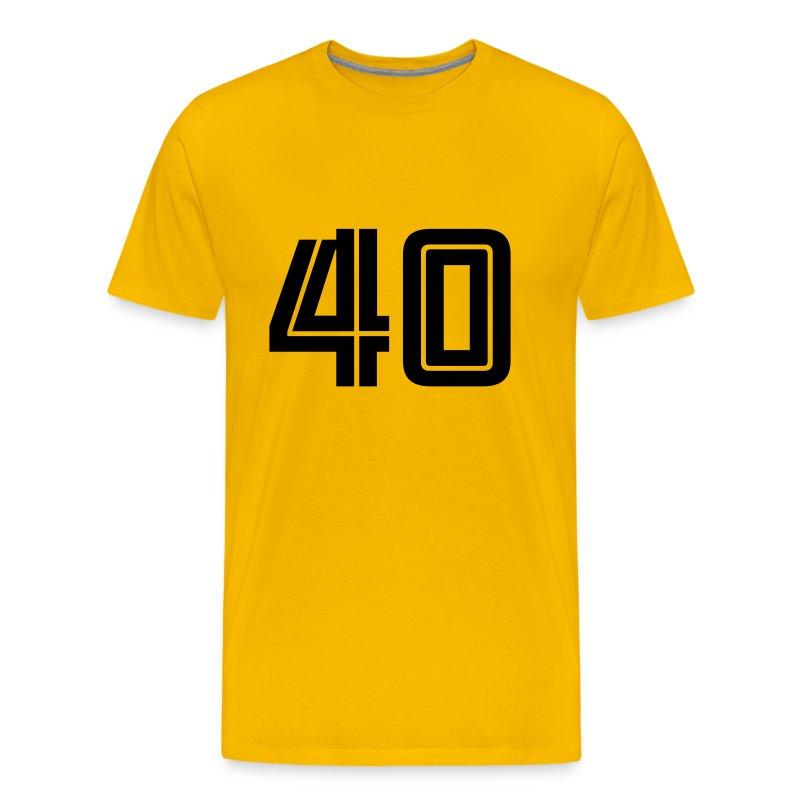 40 t shirts men 39 s premium t shirt. Black Bedroom Furniture Sets. Home Design Ideas
