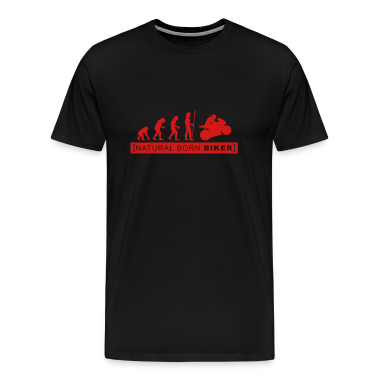 natural born biker T-Shirts