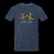 T-Shirts ~ Men's Premium T-Shirt ~ Raptor High-Five -- Men's