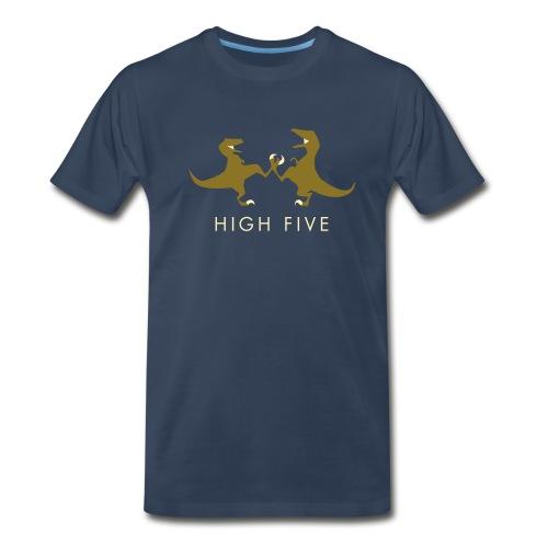Raptor High-Five -- Men's - Men's Premium T-Shirt