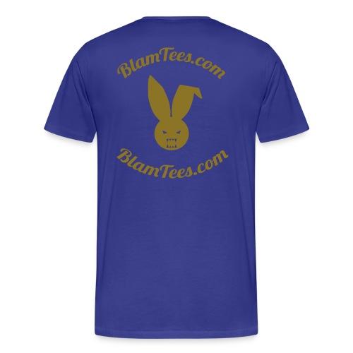 Quit Stalking - Twitter Parody - Men's T-Shirt - Men's Premium T-Shirt