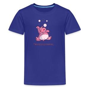 Baby Hiccuppopotamus - Kids' Premium T-Shirt