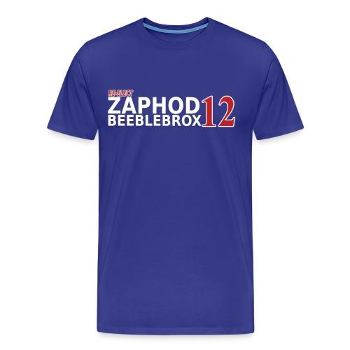 Re-Elect Zaphod 3X - Men's Premium T-Shirt