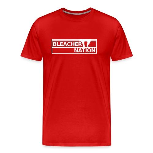 Bleacher Nation Logo Heavyweight T-Shirt (Men's) - Men's Premium T-Shirt
