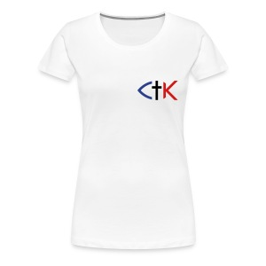 CTK Fish A Women's Plus Size T-Shirt - Light colors - Women's Premium T-Shirt