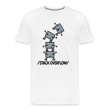 Stack Overflow Robots T-Shirts