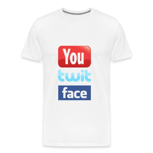 TwitFace - Men's Premium T-Shirt