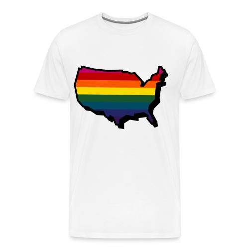 Queer America - Men's Premium T-Shirt