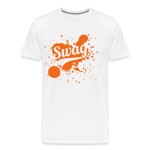 Orange Sunkist Swag  - Men's Premium T-Shirt