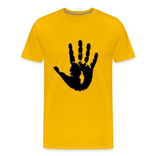 Jesus' Eternal Handprint - Men's Premium T-Shirt