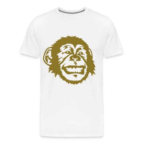 Monkey Cotton Tee - Men's Premium T-Shirt