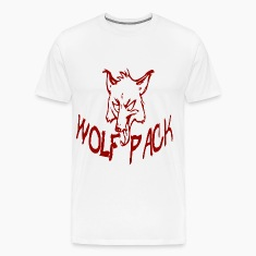 wolf pack red T-Shirts