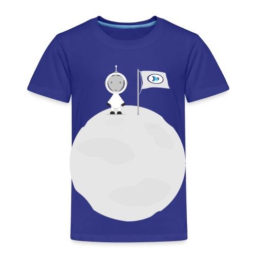 Lamb Da on Moon Toddler T-Shirt - Toddler Premium T-Shirt