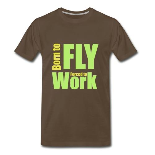 Born to fly - Men's Premium T-Shirt