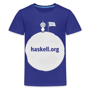 Haskell.org Moon Large - Kids' Premium T-Shirt