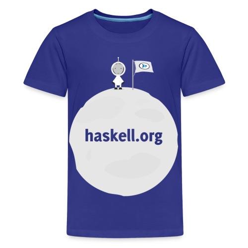 Haskell.org Moon Large - Kids' Premium T-Shirt