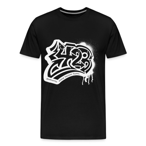 423 Black men - Men's Premium T-Shirt