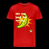 T-Shirts ~ Men's Premium T-Shirt ~ Big Banana Burst