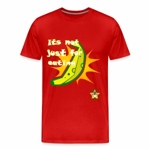 Monkey Pickles Big Banana Burst - Men's Premium T-Shirt