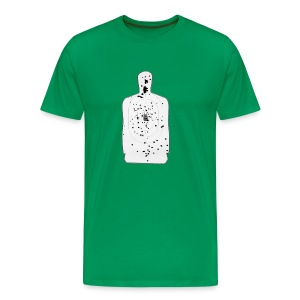 Weapon Blog Target - Men's Premium T-Shirt
