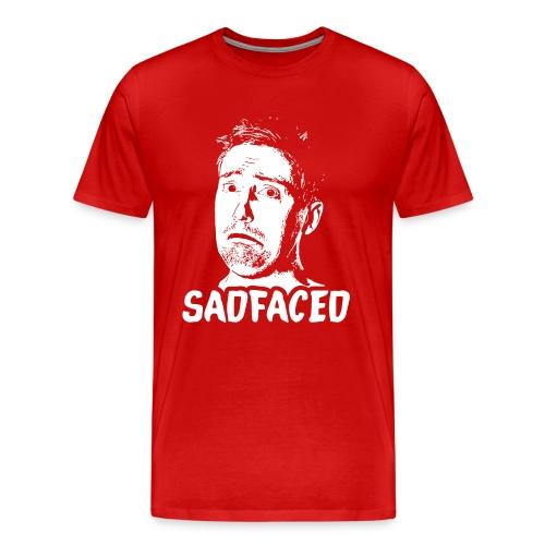 T-Shirt - Sadfaced - Men's Premium T-Shirt