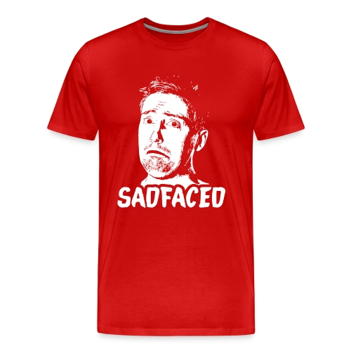 T-Shirt - Sadfaced - Men's Premium T-Shirt