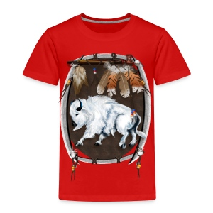 White Buffalo Sheild - Toddler Premium T-Shirt