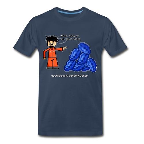 Look at all that Lapis! - Men's Premium T-Shirt