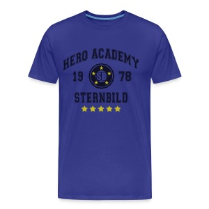 Tiger & Bunny - Hero Academy Tee - Men's Premium T-Shirt