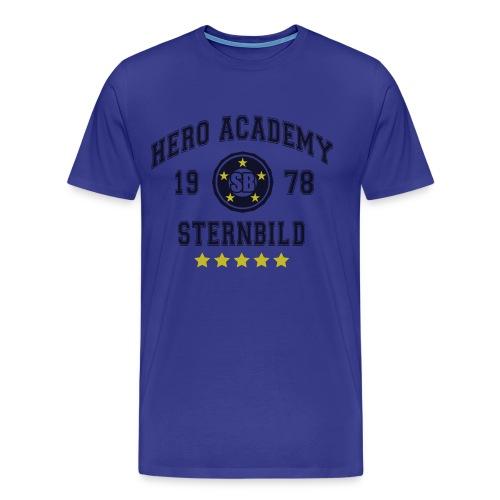 Tiger & Bunny - Hero Academy Tee - Men's Premium T-Shirt