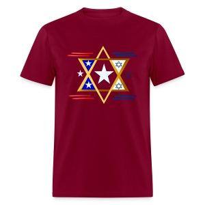 America-Israel - Men's T-Shirt