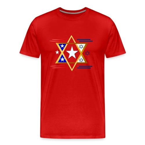 America-Israel - Men's Premium T-Shirt