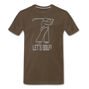 Let's Golf! - Men's Premium T-Shirt