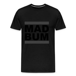 Mad Bum Blackout Tee - Men's Premium T-Shirt