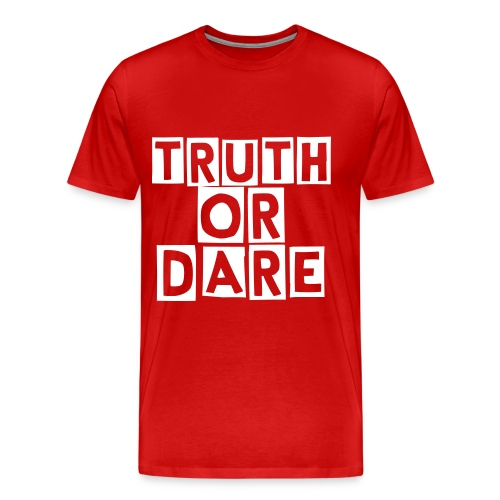 5iveClubs-Truth Or Dare Tee - Men's Premium T-Shirt
