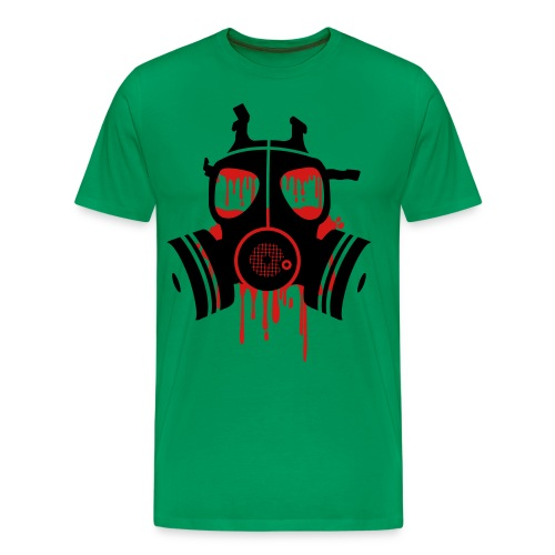 gas mask classic - Men's Premium T-Shirt