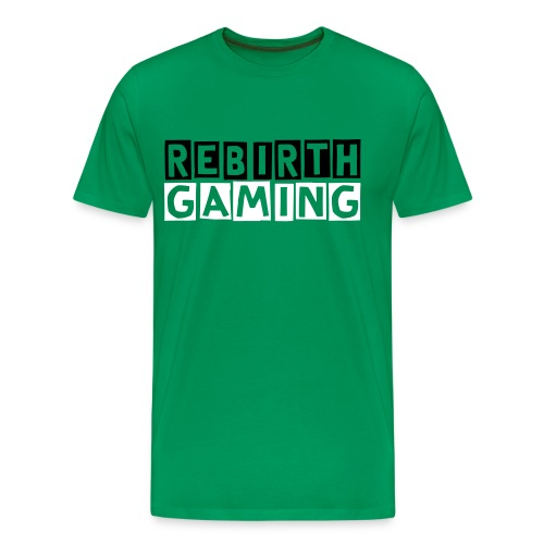 Lime Green Rebirth Shirt - Men's Premium T-Shirt