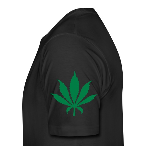 3rd Street Fiends Rasta Logo (Black) - Men's Premium T-Shirt