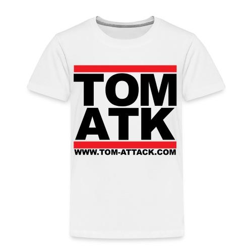 Tom-Attack DMC Toddler Tee White - Toddler Premium T-Shirt