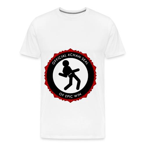 4chan win - Men's Premium T-Shirt