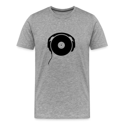 Music tastes better on vinyl Tee - Men's Premium T-Shirt