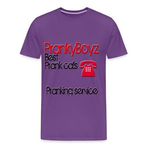 PrankyBoyz Shirt - Men's Premium T-Shirt