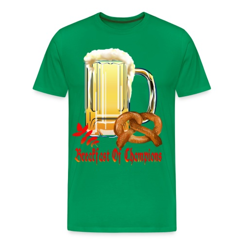 Breakfast Of Champions-Happy Oktoberfest! - Men's Premium T-Shirt