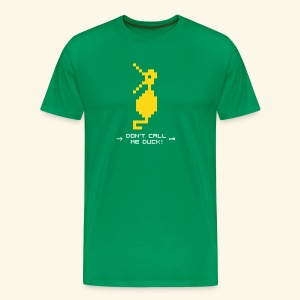 Dragonduck (free shirt color selection) - Men's Premium T-Shirt