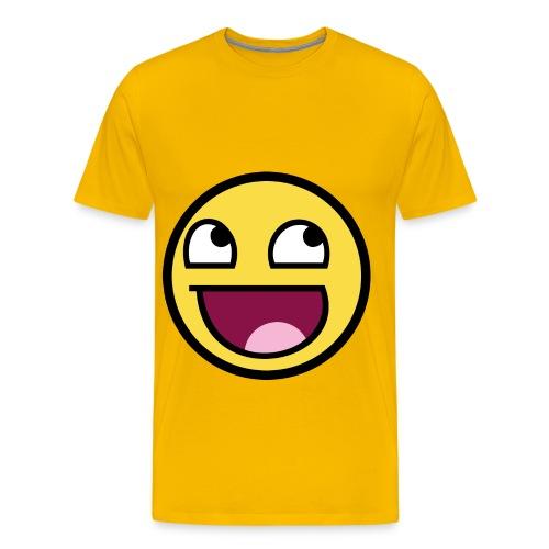 Awesome Face - Men's Premium T-Shirt